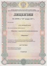 Лицензия на оказание услуг почтовой связи